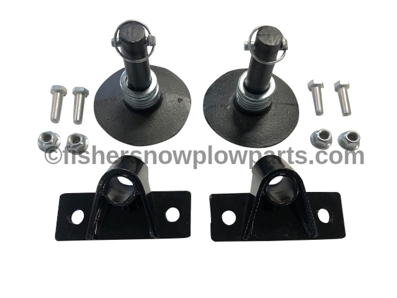 52506 FISHER SHOE KIT - Pair - HD2 PLOW ONLY