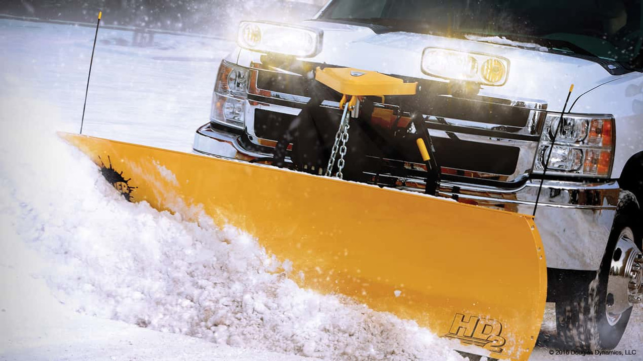 FISHER HD2 SERIES SNOWPLOWS