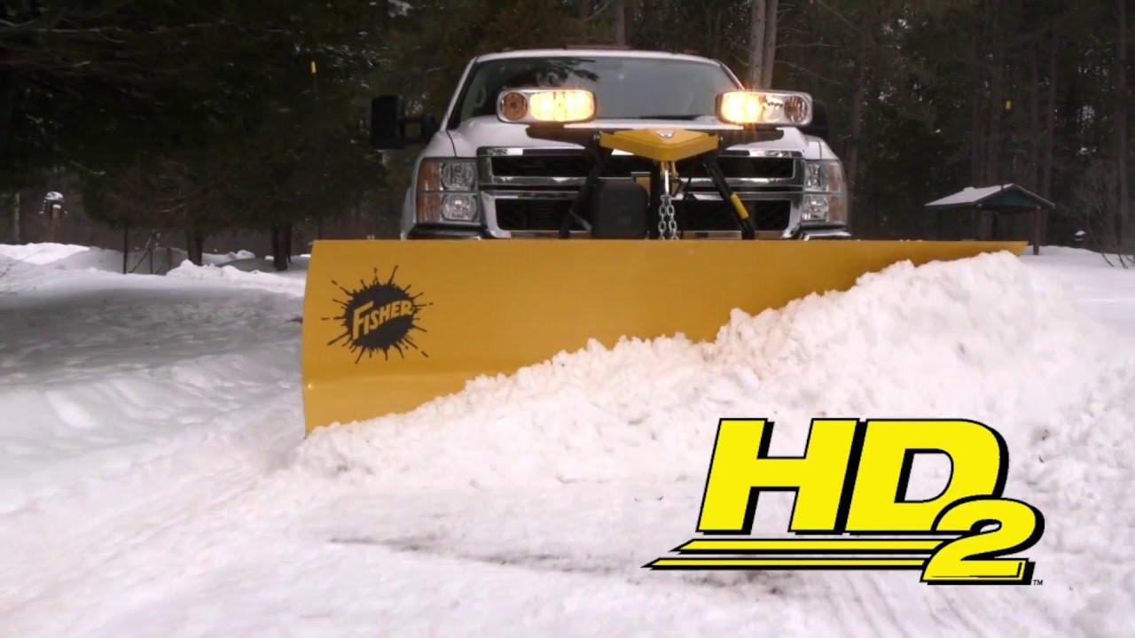 FISHER HD2 SERIES SNOWPLOWS