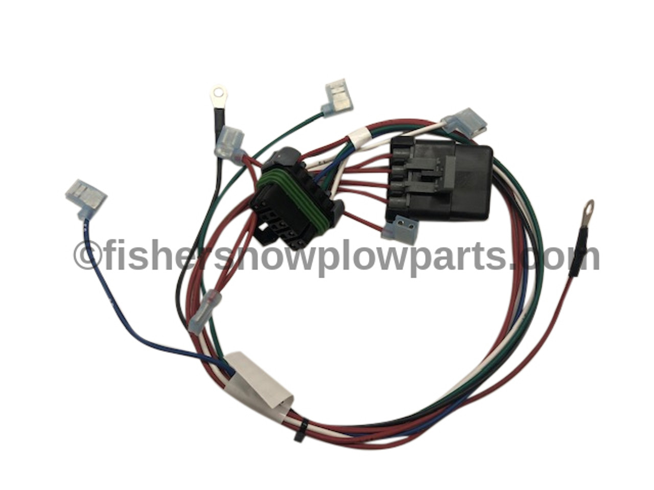 28581 1 Fisher Western Harness Plow Control 3 Sol Fleetflex Genuine Fisher Snow Plow Replacement Parts