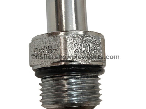 7634K-2 - FISHER VALVE SVO8-2004 W/ JAM NUT