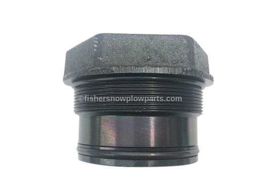 """43135 -- """"FISHER  SNOW PLOWS GENUINE REPLACEMENT PART -  XV2 -  LIFT RAM GLAND NUT ASSEMBLY WITH SEALS"""