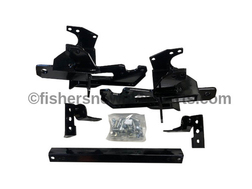 77102 FISHER 2017 FORD SUPER DUTY F250/350/450/550  VEHICLE MOUNT KIT