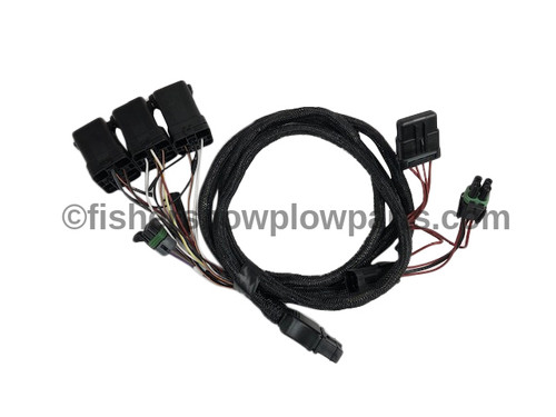 69793-1 FISHER - WESTERN - SNOW EX VEHICLE LIGHTING HARNESS 11 PIN W/RELAYS, HID