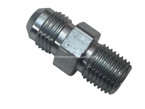 56684 FISHER SNOW PLOW GENUINE REPLACEMENT PART -  CONNECTOR MALE, -6 M JIC / 1/4 M NPTF - SAE 070102