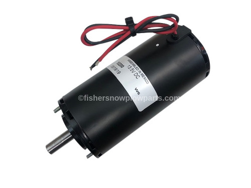 """93200 - FISHER STEELCASTER  SPREADER GENUINE REPLACEMENT PART - MOTOR 12VDC 1/3 HP-LOW PROFILE 1/2"""" SHAFT"""