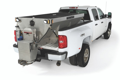 FISHER STEELCASTER ELECTRIC DUAL MOTOR HOPPER SPREADERS