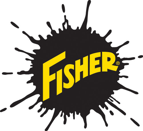 "96358 - ""FISHER COVER ASSY W/ACT SPRG & LABEL FISHER LOGO"