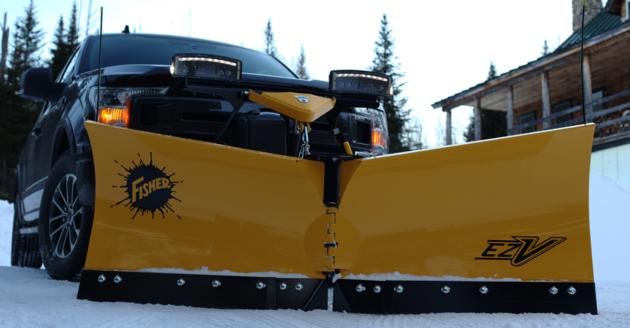 V- Plow for 1/2 ton trucks