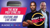 Poly Sync 20 - Best New Speakerphone of 2021?  Bluetooth, USB, Waterproof - Teams, Zoom, Full Review