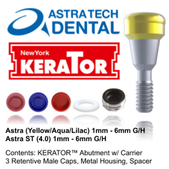 Kerator ASTRA (Yellow/Aqua/Lilac) & ST 4.0