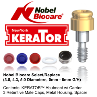 Kerator NOBEL BIOCARE (Select / Replace)