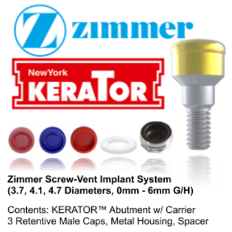 Kerator ZIMMER Screw-Vent