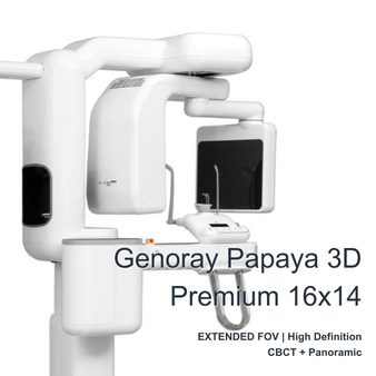 Genoray Papaya 3D Premium FOV 16X14cm