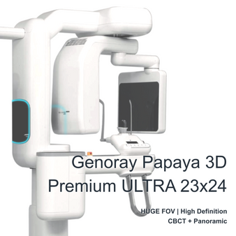 Genoray Papaya 3D Premium ULTRA FOV 23x24cm