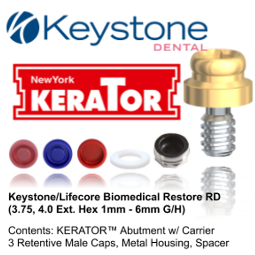 Kerator KEYSTONE/LIFECORE BIOMEDICAL (Restore) External Hex
