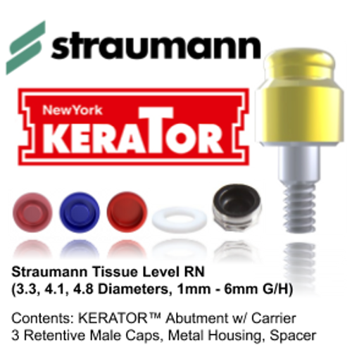 Kerator STRAUMANN Tissue Level RN (3.3, 4.1, 4.8)