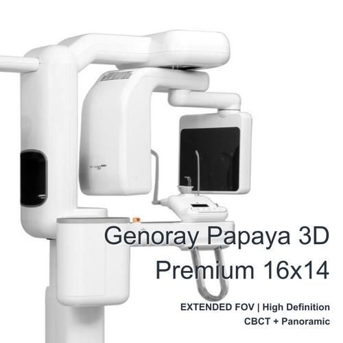 Genoray Papaya 3D Premium FOV 16X14cm