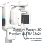 Genoray Papaya 3D Premium ULTRA FOV 23x24cm