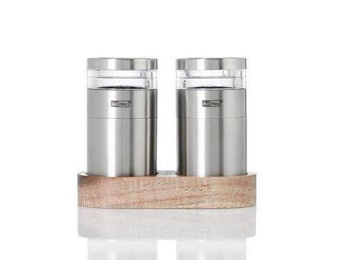 Menage Molto Pepper and Salt Mills 3-Piece Set
