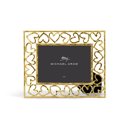Michael Aram Heart Photo Frame Gold 5x7