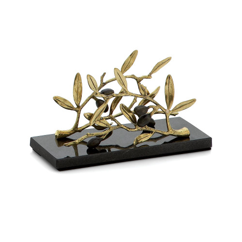 Michael Aram Olive Branch Vertical Napkin Holder