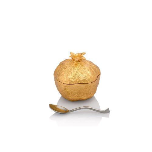Michael Aram Pomegranate Mini Pot with Spoon