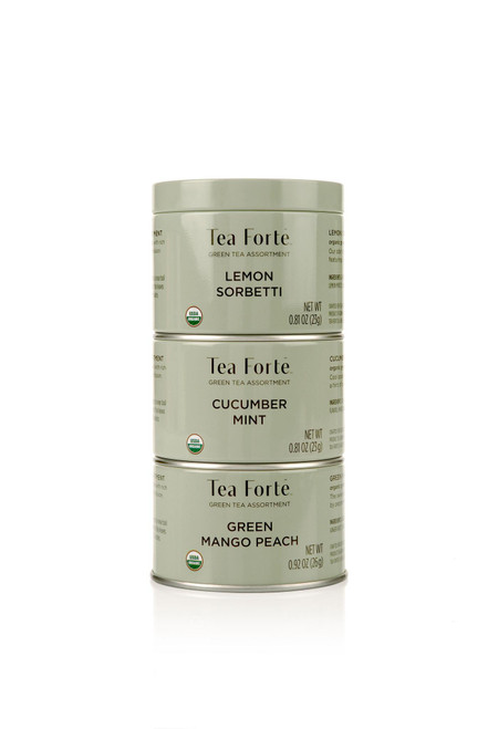 Tea Fortē Green Loose Leaf Tea Trios
