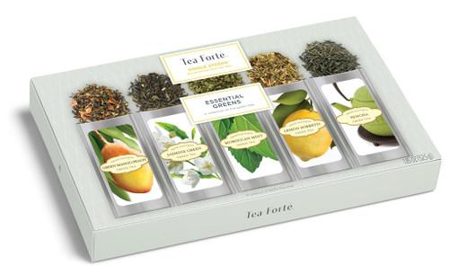 Tea Fortē Essential Greens Single Steeps® - 15 Single Steeps Pouches