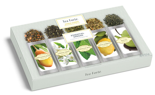 Tea Fortē Essential Greens Single Steeps® - 15 Single Steeps Pouches