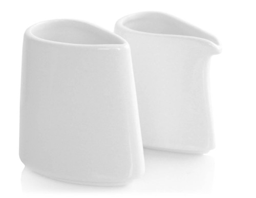 Tea Fortē Porcelain Sugar & Creamer Set of 2