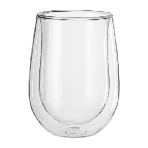 Zwilling Double Wall White Wine Stemless Glasses (10oz) - Set of 2 - Sorrento Bar