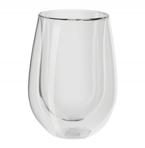 Zwilling Double Wall Red Wine Stemless Glasses (12oz) - Set of 2 - Sorrento Bar