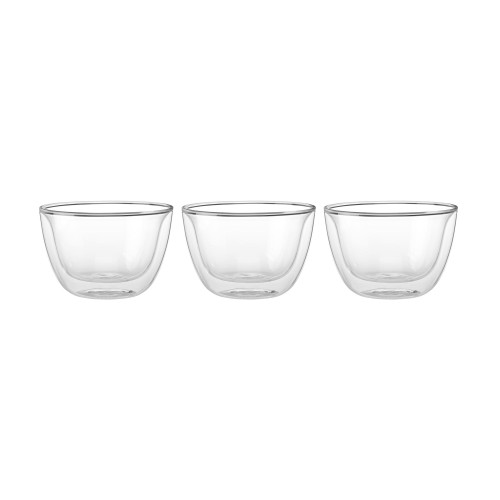 Zwilling Double Wall Tapas Bowls (4.5oz) - Set of 3 - Sorrento