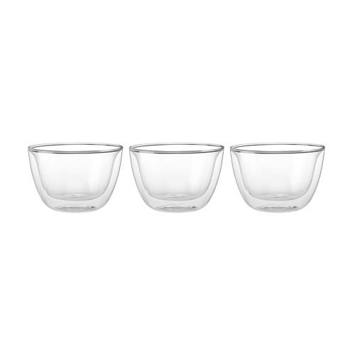 Zwilling Double Wall Tapas Bowls (4.5oz) - Set of 3 - Sorrento