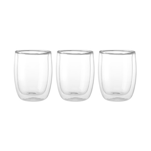 Zwilling Double Wall Appetizer Dessert Glasses (6.7oz) - Set of 3 - Sorrento