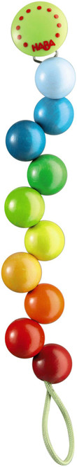 Haba Rainbow Pearls, Pacifier Chain