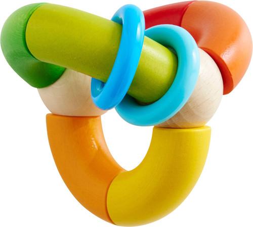 Haba Clutching Toy, Rainbow Ball