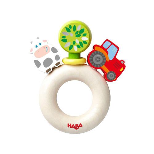 Haba Clutching Toy, Farm World