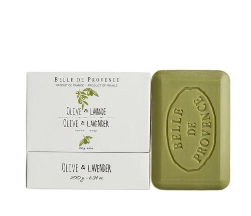 Lothantique Belle de Provence Olive Oil Savon Soap - 6.34 oz.