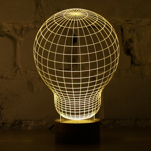 AMEICO Bulbing LED Illusion Lamp