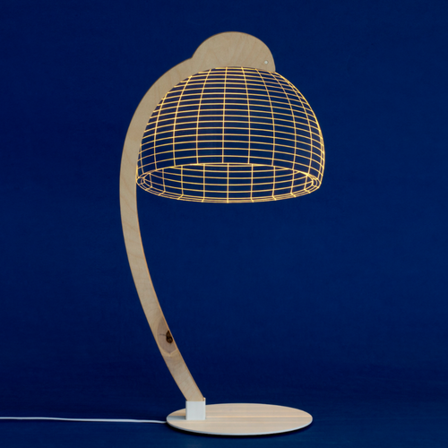 AMEICO Dome LED Illusion Lamp