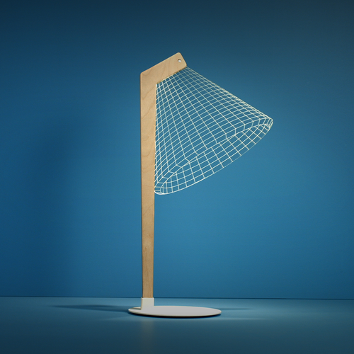 AMEICO Deski LED Illusion Lamp