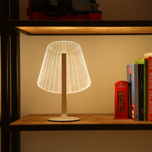 AMEICO Classi Birch LED Illusion Lamp