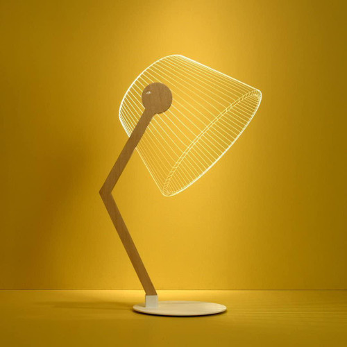 AMEICO Ziggi Classic Birch LED Lamp