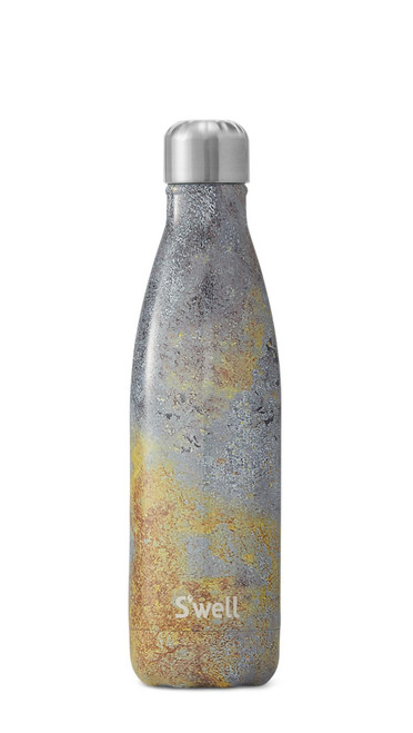 S'well Stainless Steel Water Bottle - Golden Fury (17 oz)