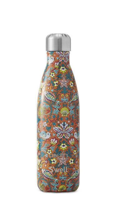 S'well Stainless Steel Water Bottle - Liberty London x S'well Morris Reef (17 oz)