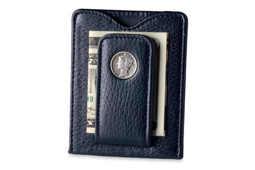 Tokens & Icons Mercury Dime Wallet - Black