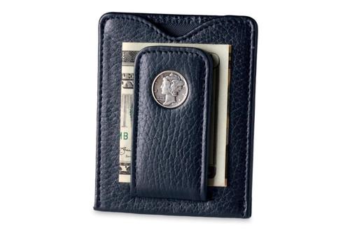 Tokens & Icons Mercury Dime Wallet - Black