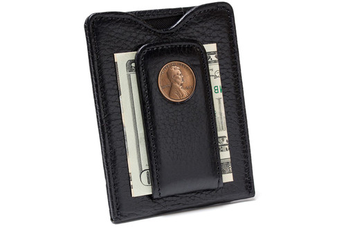 Tokens & Icons Lincoln Penny Money Clip - Black